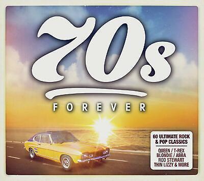 70s Forever (2019) 3 CD Set (NEW) Queen, Elton John, Slade etc (70s Pop Music)
