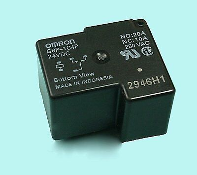 G2R-1A-24DC Relay electromagnetic SPST-NO Ucoil24VDC 10A//250VAC 30m OMRON