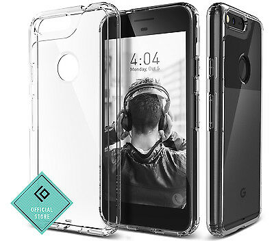 For Google Pixel XL Caseology®[WATERFALL] Shockproof Slim TPU Crystal Clear Case