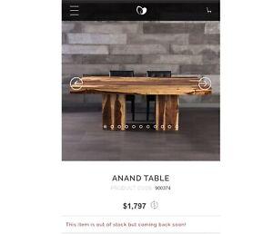 ARTEMANO  ADNAN DINNING TABLE