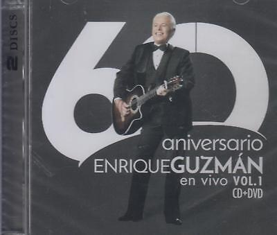 CD -Enrique Guzman NEW En Vivo Vol. 1 60 Aniversario 1 CD & 1 DVD FAST SHIPPING!