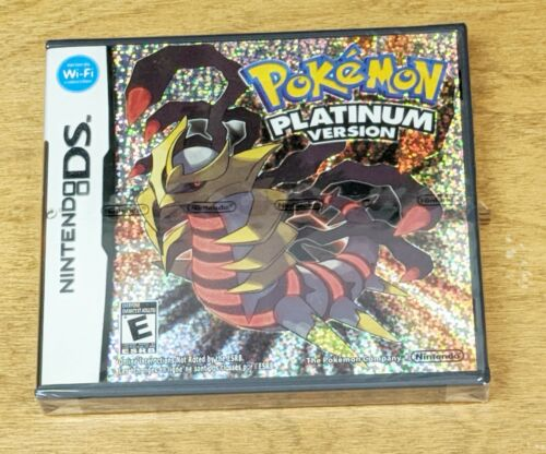 Pokemon Platinum Version ~ Nintendo DS NDS ~ Brand New Sealed