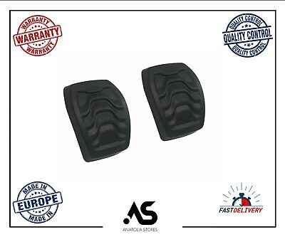 Vobor 1 Pair Brake Clutch Rubber Foot Pedal Pad Cover for Ford Transit MK6 MK7 2000-2014