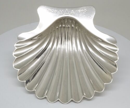 Sterling Silver Vintage Shell Dish