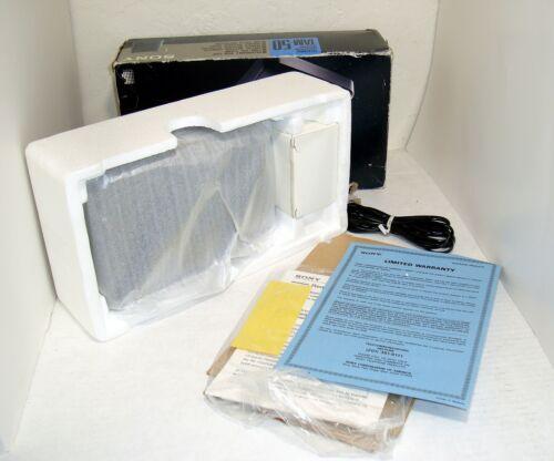 Vintage Sony TAM-50 Telephone Answering Machine AC Adapter Original Box FREE S&H