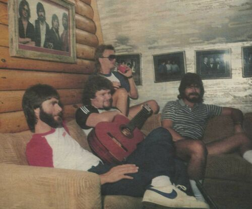 Alabama music band rare collection 3 clips 1985-1988; Archive of the Eighties