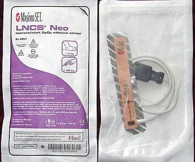 Masimo Set Lncs Neo Neonatal Adult Pulse Ox Spo2 Sensors Sensor