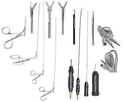 Laparoscopy Hysteroscopy Flexible 5fr Scissor Biopsy Alligator 2 Electrode 7pc