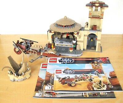 LEGO Star Wars 9516 Jabba's Palace 9496 Skiff Only 4480 4475 NO FIGURES Complete