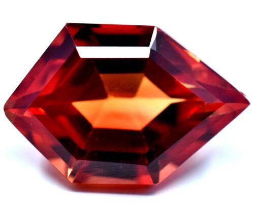 9.25 Ct Natural Mogok Red-Orange Painite STUNNING RARE Found Certified Gemstone