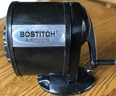 Stanley Bostitchtable Mount Wall Mount Antimicrobial Manualpencil Sharpener.