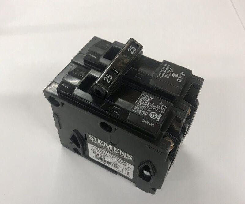 Siemens Q225 25-Amp 2 Pole 120/240-Volt Circuit Breaker