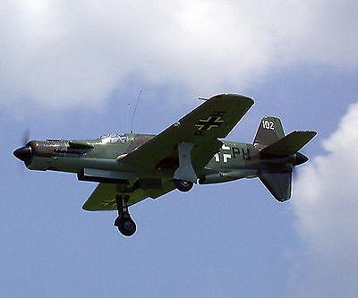 Giant 1/7 Scale German WW-II Dornier Do-335 Pfeil Plans and Templates