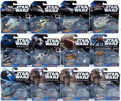 Hot Wheels Die-cast STAR WARS Lot of 12 x Starship Assortment CASE DXD96-999D