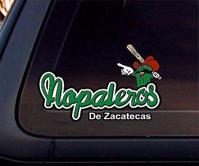 Nopaleros de Zacatecas Baseball Car Decal/Sticker Baseball Car Decals