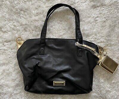 Versace Perfume Womens Bag, Black/Gold
