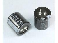 105C Electrolytic Capacitor 25V Nichicon LGU 10000uF 22mm x 40mm