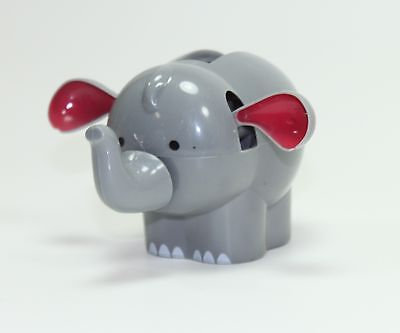 Dancing Gray Elephant Solar Power Toy - Home Car DECOR