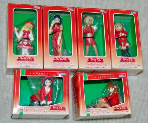 NEW LOVE HINA Collection Figure Christmas Version vol. 1 & 2 Complete USA SELLER