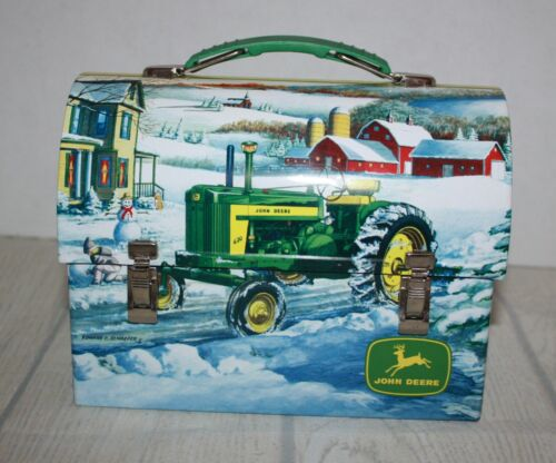 Vintage Collectible John Deere Lunch Box