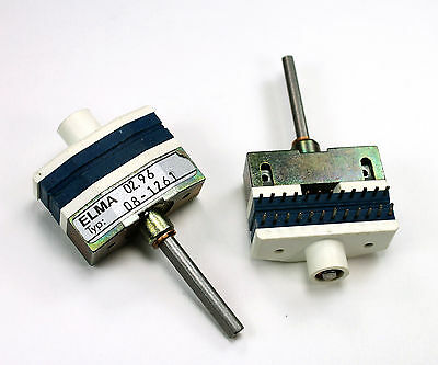 Elma Coded Rotary Switch 11 Position Spst Type C08-1261 02.96