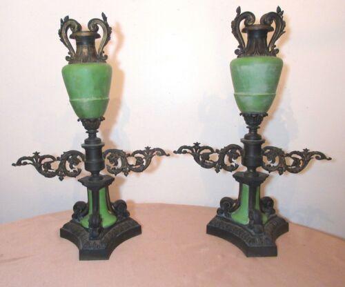 pair of large antique 1800