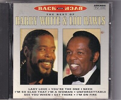 CD : Barry White & Lou Rawls - Back To Back - The Best Of