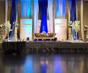 Luxury decorations and backdrops