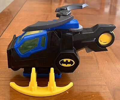 Fisher Price Imaginext DC Super Friends Batman Batcopter Helicopter Claw Set