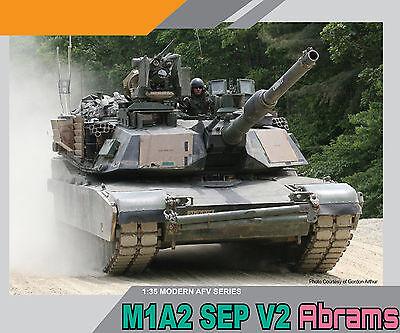 Dragon Model Kits 1/35 M1A2 SEP V2 Abrams (System Enhanced Program) 14+ Dr3556