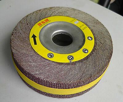 10 Abrasive Flap Sanding Wheels 6in X 2 X 1 Aluminum Oxide 40 Grit -wholesale