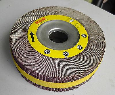 Flap Wheel 6-inch X 2 X 1 Aluminum Oxide 180 Grit Unmounted Sanding Disc