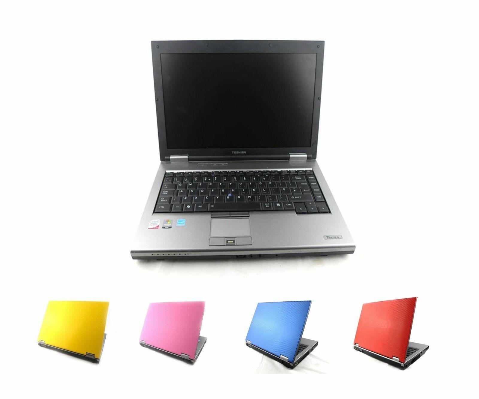 "Laptop Windows - CHEAP Toshiba Core 2 Duo LAPTOP WINDOWS 7 10 2GB 4GB RAM 14"" WiFi Warranty"