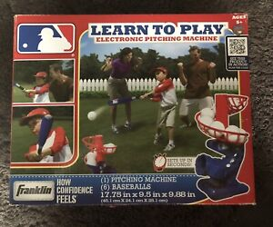 FRANKLIN MLB LEARN TO PLAY PITCHING MACHINE
