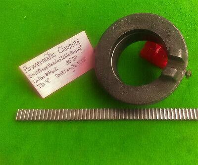 Powermatic 20 Or Clausing 20 Drill Press Head Or Table Raising Collar Rack