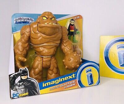 Fisher-Price Imaginext Oozing Clayface & Robin DC Superfriends!! New
