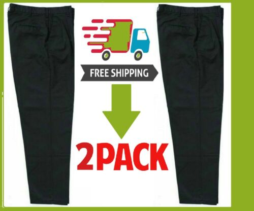 Work Pants Uniform -2 Pack -  Pick Your Color / Size - Free Shipping - Usa #1