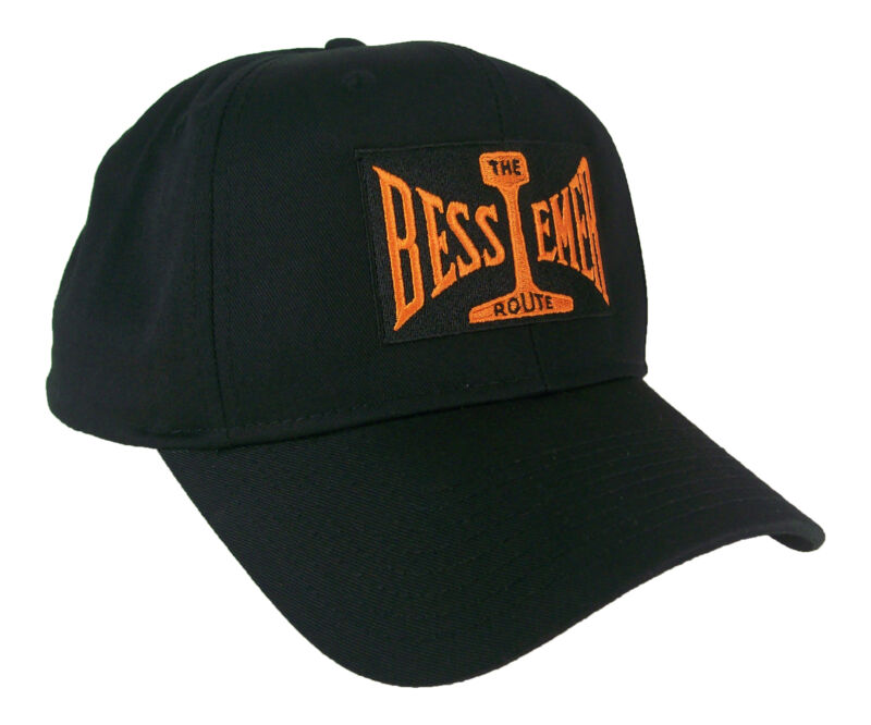 Bessemer & Lake Erie Railroad The Route Embroidered Cap Hat #40-0071