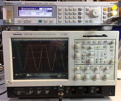 Tektronix Tds7154b Oscilloscope 4ch 1.5ghz 20gss 5m Sm J2 Usb Cp2 Pw3 Et3 Ja3