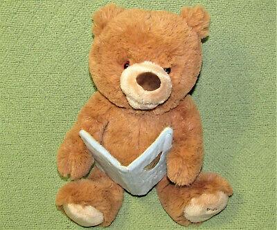GUND ANIMATED STORYTIME CUB TEDDY BEAR PLUSH TALKING MOVES GOLDILOCKS BOOK BABY