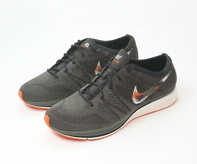 Nike Men's Flyknit Trainer Brown Olive Shoes AH8396-202 New Size 12