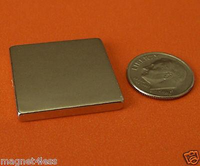 10 Strong Grade N42 1x1x1/8 Inch  Rare Earth Neodymium Block Magnet for sale  Plano
