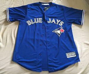 BRAND NEW blue jays jersey #11 majestic authentic size large
