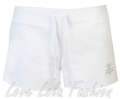 Womens Shorts Ladies Beach Bay Shorts Soft Cotton Hot Pants Bum ...
