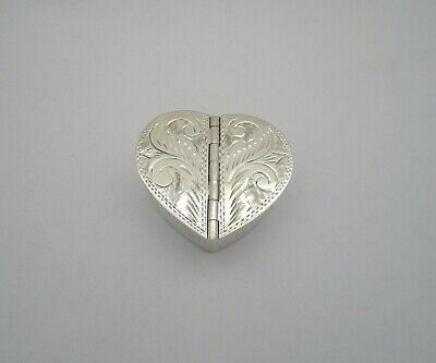 Letter U Etched Monogram Pendant Oval Trinket Jewelry Box