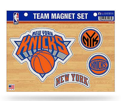 New York Knicks NY Multi Die Cut Magnet Sheet Auto Home NBA Basketball ()