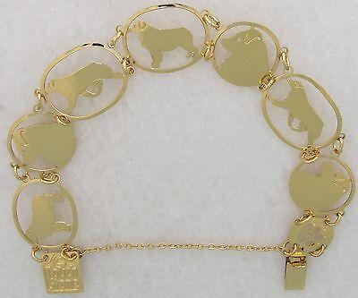 Australian Shepherd Jewelry Gold New Design Bracelet By Touchstone