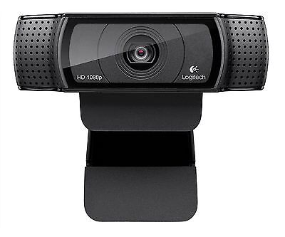 Logitech Hd Pro Webcam C920, Widescreen Video Calling And...