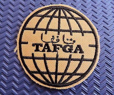 TAFGA Tamimi group SAUDI ARABIA embroidered patch