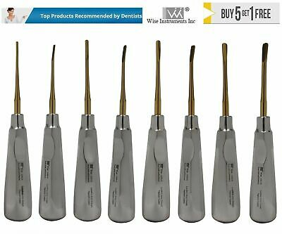 Dental Surgical Periotome Luxating Elevators Set Of 8 Pieces